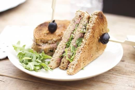 Club Sandwich Vitello Tonato