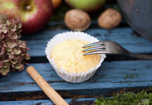 appel-honing muffin