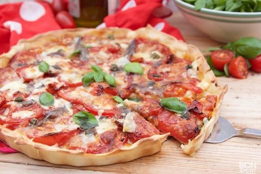 Tomatentaart Napoli