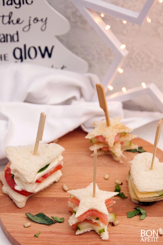 Ongekend Leuke en lekkere sandwiches voor de feestdagen! - Bonapetit NH-68