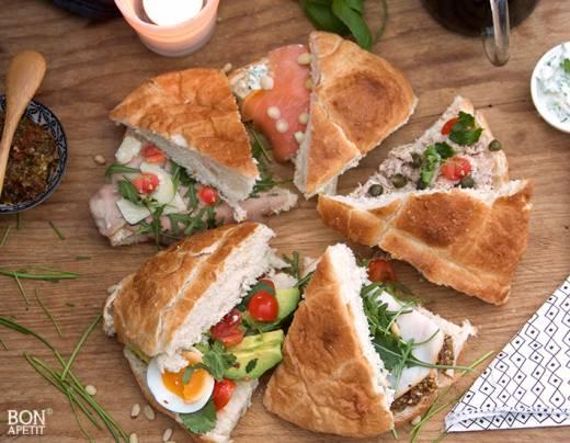 Extreem 5 x lekker Turks brood belegd! - Bonapetit &EL45