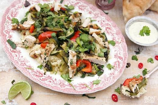 kip met couscous
