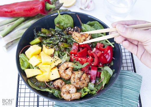 sweet & spicy salade
