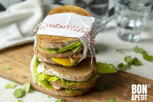 sweet & spicy sandwich